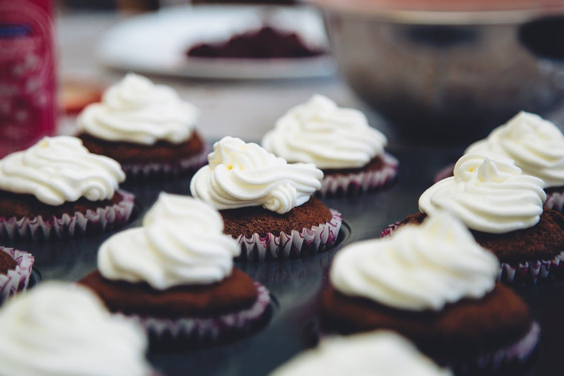 Keto Chocolate Cupcakes